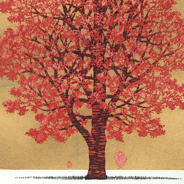 Treescene 138, 2009 by Hajime Namiki (1947 - )