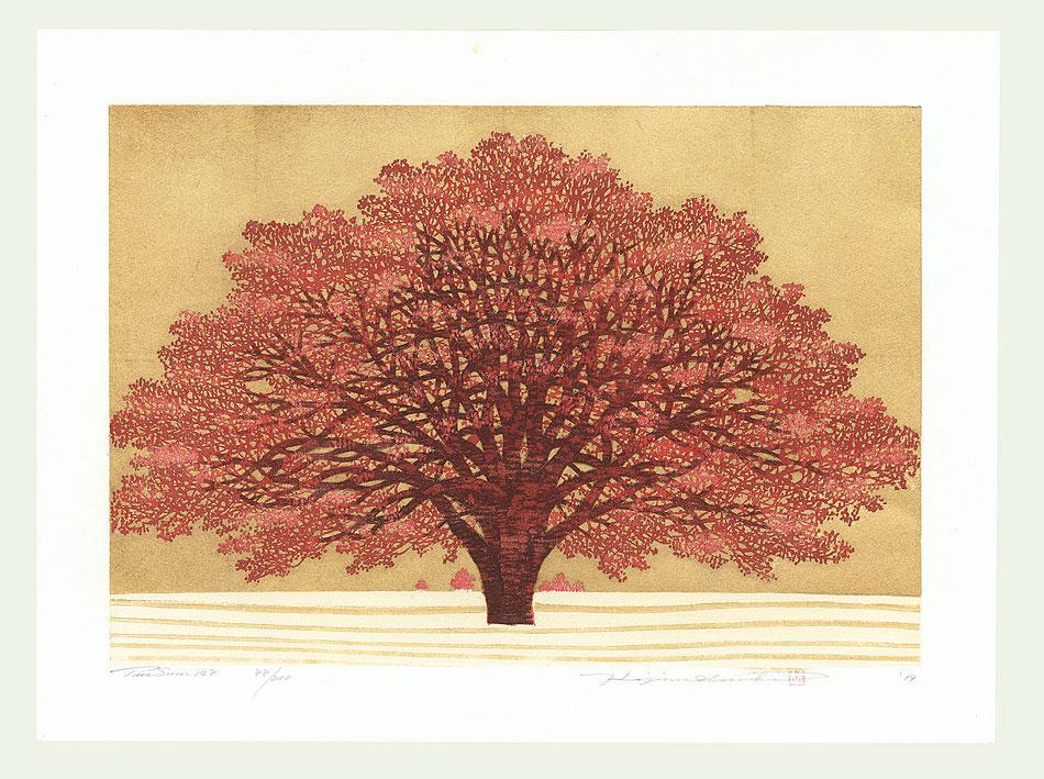 Treescene 148, 2014 by Hajime Namiki (born 1947)