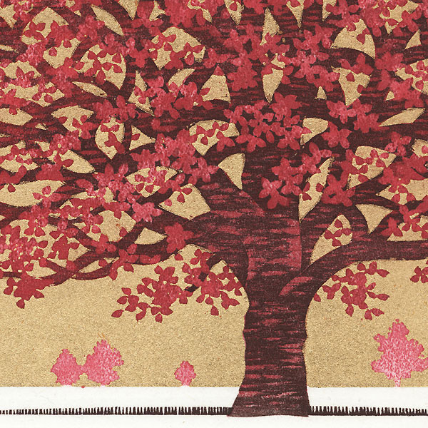 Dogwood 9, 2011 by Hajime Namiki (born 1947)