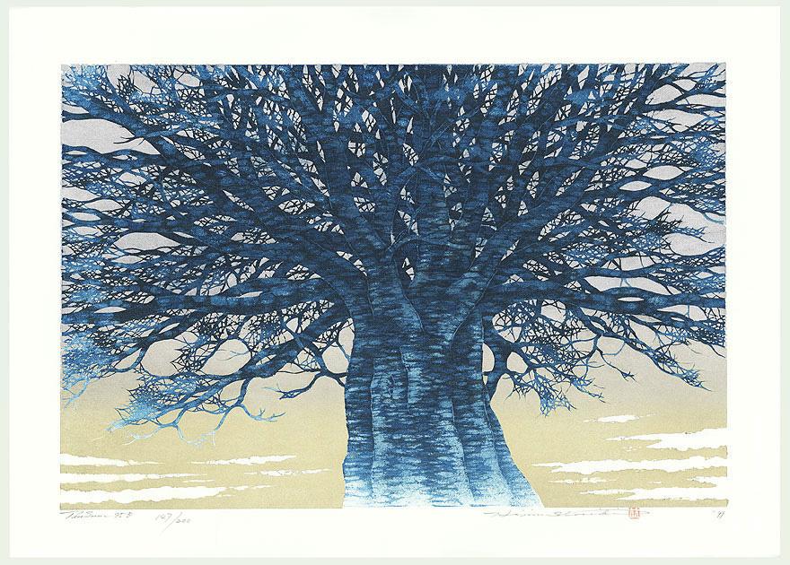 Treescene 95 B, 1999 by Hajime Namiki (born 1947)
