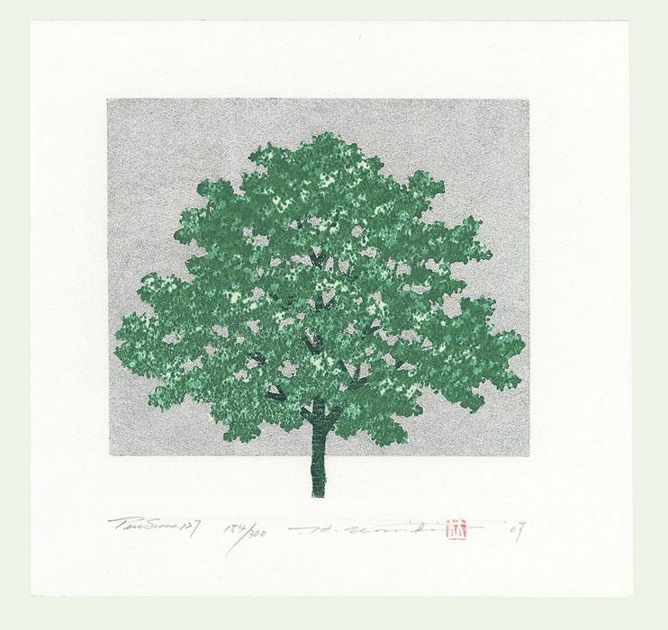 Treescene 127, 2007 by Hajime Namiki (1947 - )