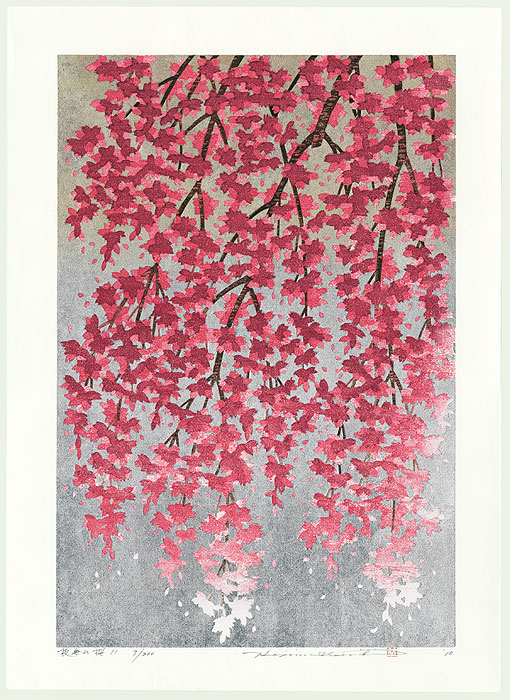 Weeping Cherry 11, 2010 by Hajime Namiki (1947 - )