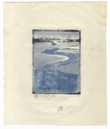A Clearance Opportunity! Shin-hanga & Modern era Original by Shin-hanga & Modern artist (not read)