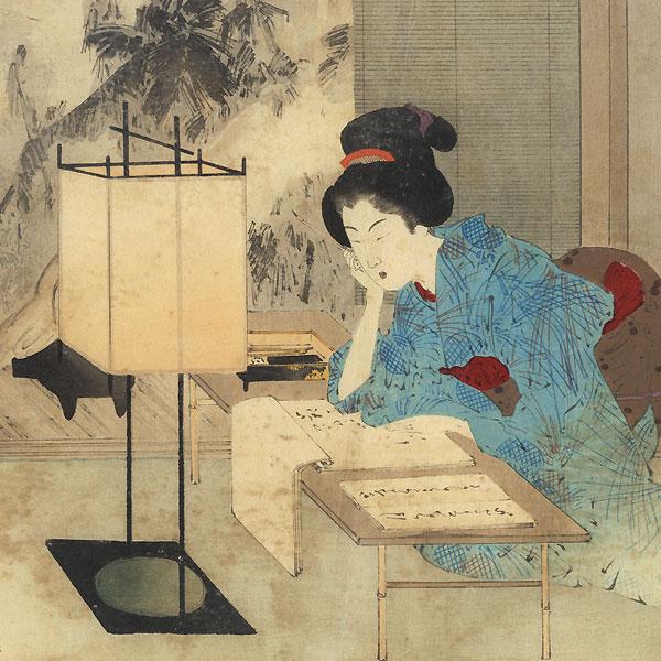 A Clearance Opportunity! Meiji or Edo era Original by Watanabe Seitei (1851 - 1918)