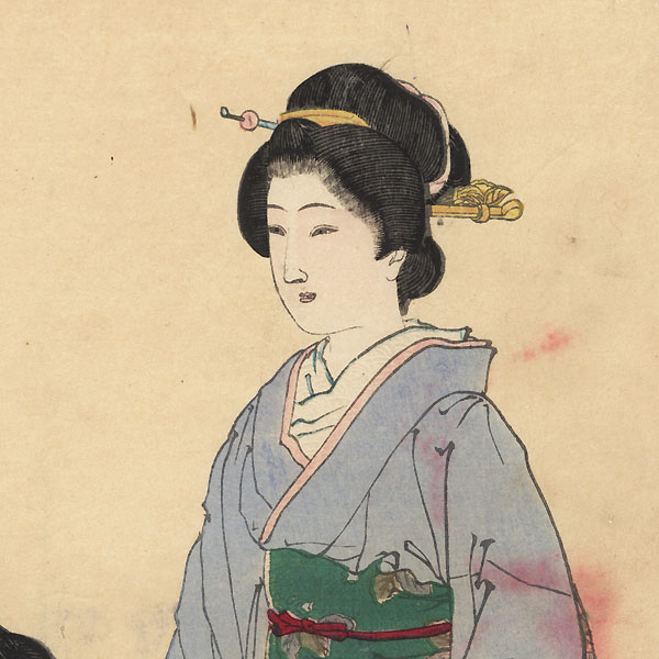 Fuji Arts Overstock Diptych - Exceptional Bargain! by Ginko (active 1874 - 1897)