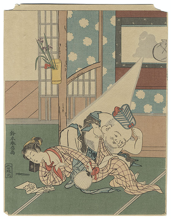 Fine Old Reprint Clearance! A Fuji Arts Value by Harunobu (1724 - 1770)