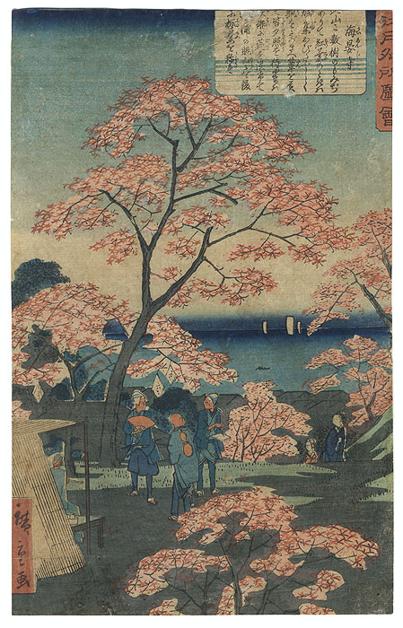 Drastic Price Reduction Moved to Clearance, Act Fast! by Hiroshige II (1826 - 1869)