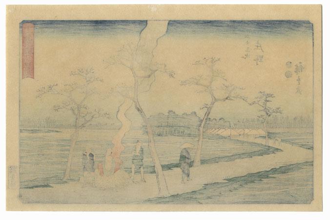 Shono, Station No. 46 by Hiroshige (1797 - 1858)