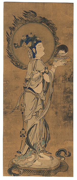 Fine Old Reprint Clearance! A Fuji Arts Value by Early Japanese artist (unsigned)