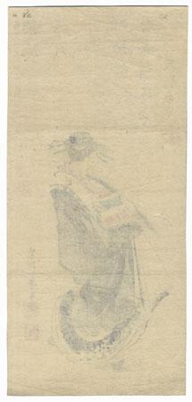 A Clearance Opportunity! Meiji or Edo era Original by Katsushika Taito II (active circa 1810 - 1853)