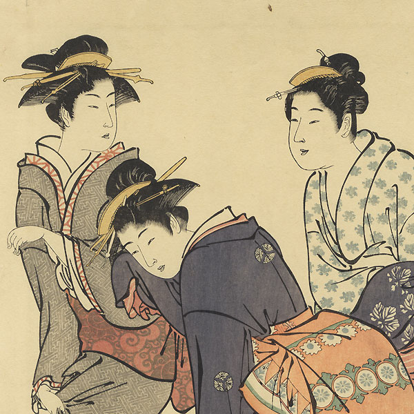 Fine Old Reprint Clearance! A Fuji Arts Value by Kiyonaga (1752 - 1815)