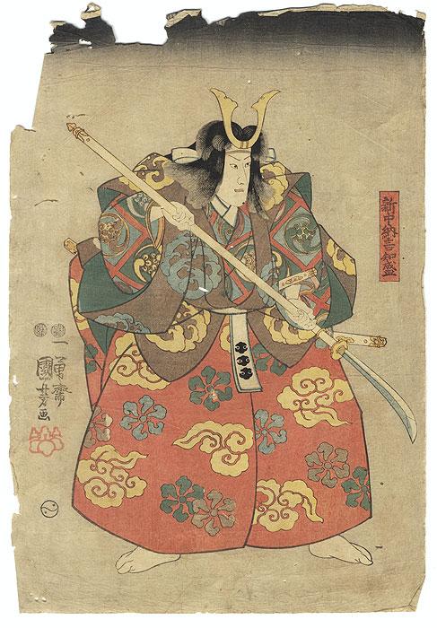A Clearance Opportunity! Meiji or Edo era Original by Kuniyoshi (1797 - 1861)