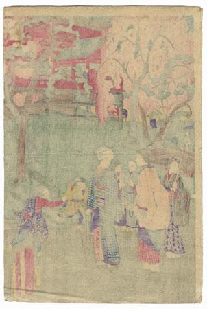 A Clearance Opportunity! Meiji or Edo era Original by Hiroshige III (1843 - 1894)