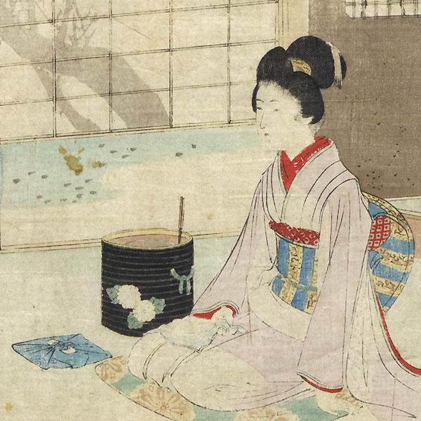 Offered in the Fuji Arts Clearance - only $24.99! by Meiji era artist (not read)