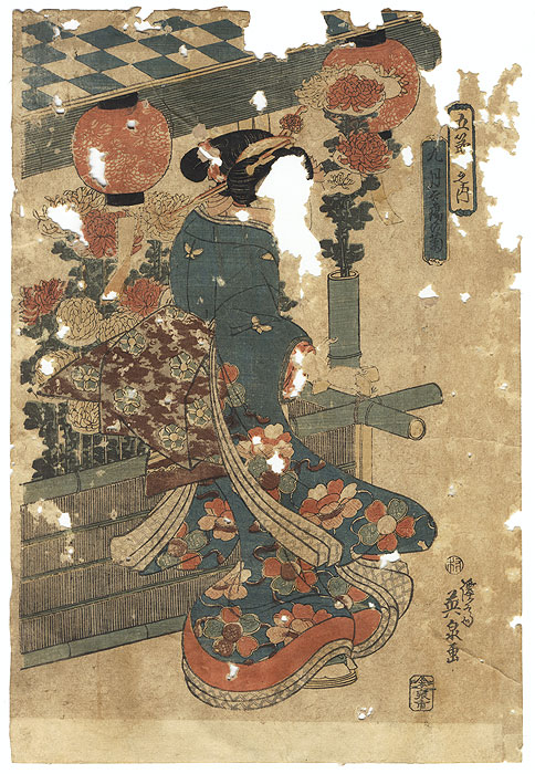 Offered in the Fuji Arts Clearance - only $24.99! by Eisen (1790 - 1848)