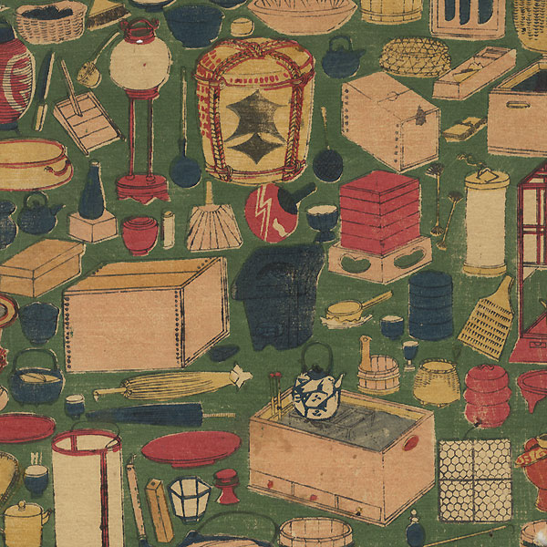 Offered in the Fuji Arts Clearance - only $24.99! by Yoshitoyo (1830 - 1866)