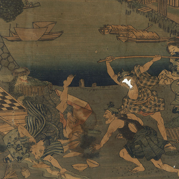 Offered in the Fuji Arts Clearance - only $24.99! by Hirokage (active circa 1855 - 1865)