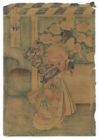 Offered in the Fuji Arts Clearance - only $24.99! by Kuniaki II (1835 - 1888)