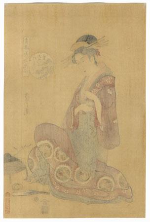 Konosato of the Takeya by Eishi (1756 - 1829)