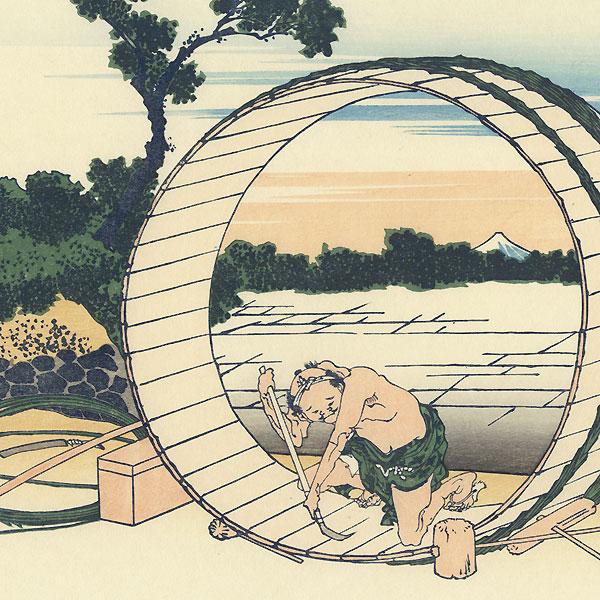 Fujimigahara (Fuji-View Fields) by Hokusai (1760 - 1849)