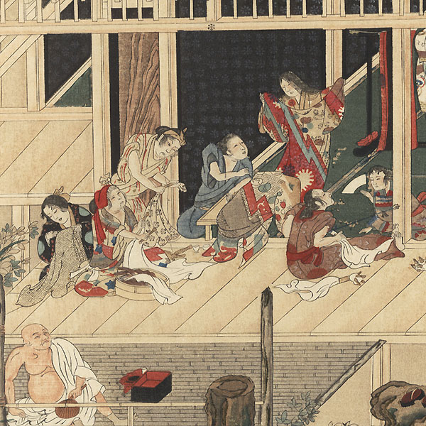 Drastic Price Reduction Moved to Clearance, Act Fast! by Mitsuoki Tosa (1617 - 1691)