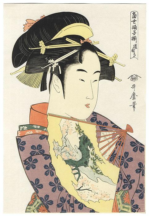 Dojo-ji Temple  by Utamaro (1750 - 1806)