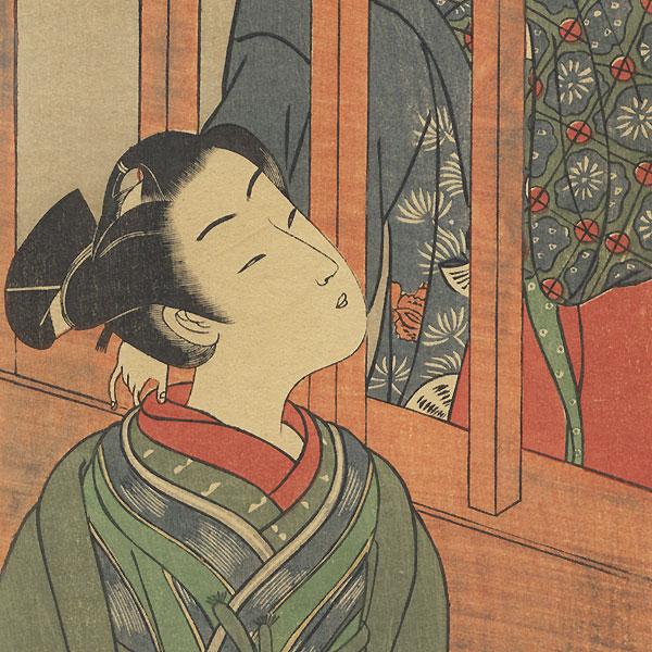 Fine Old Reprint Clearance! A Fuji Arts Value by Koryusai (1735 - 1790)