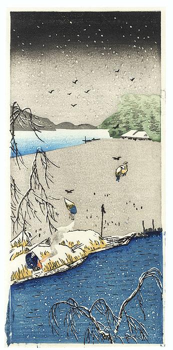 Winter View by Shin-hanga & Modern artist (unsigned)