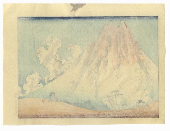 Mt. Fuji from Mishima in Koshu by Hokusai (1760 - 1849)