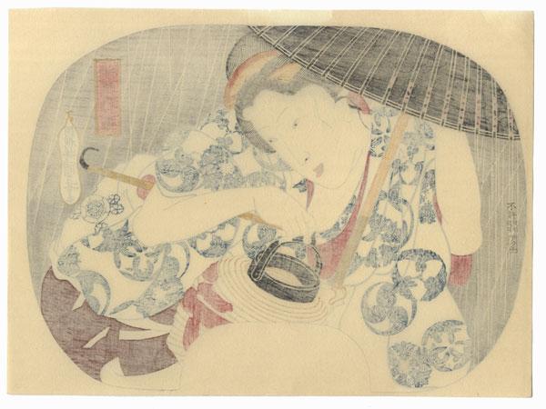 Ten Days Rain by Kuniyoshi (1797 - 1861)