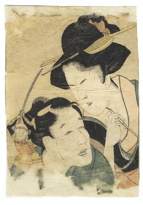 A Clearance Opportunity! Meiji or Edo era Original by Edo era artist (unsigned)