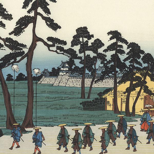 Kano, Station 55 by Hiroshige (1797 - 1858)