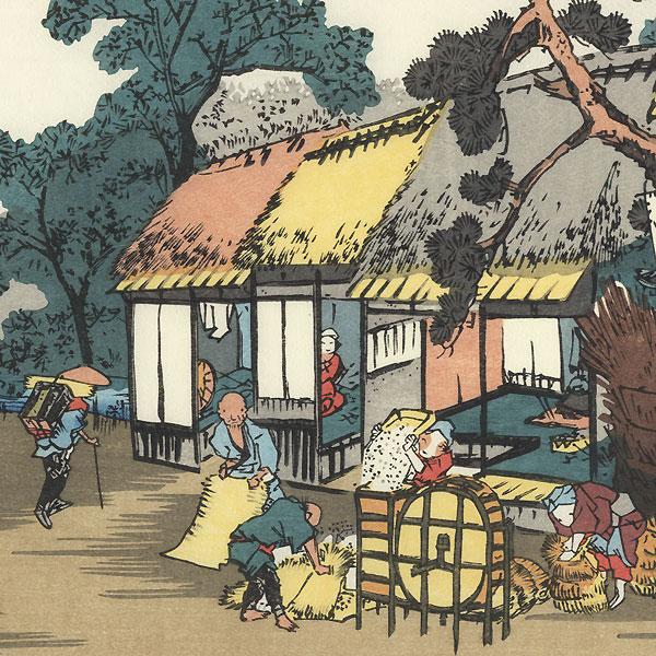 Ageo, Station 6 by Eisen (1790 - 1848)