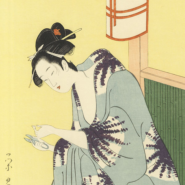 Fine Old Reprint Clearance! A Fuji Arts Value by Eisho (active circa 1780 - 1800)