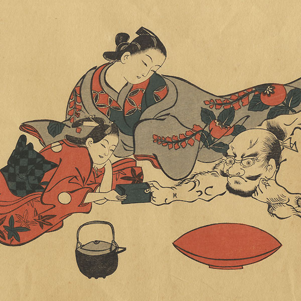 Fine Old Reprint Clearance! A Fuji Arts Value by Masanobu (circa 1686 - 1764)