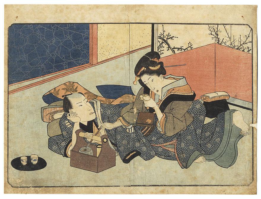A Clearance Opportunity! Meiji or Edo era Original by Shigenobu, Yanagawa  (1787 - 1832)