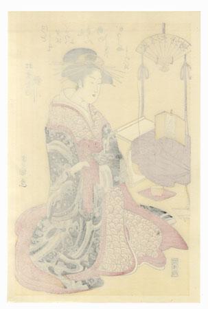 Utagawa of the Matsubaya  by Toyokuni I (1769 - 1825)