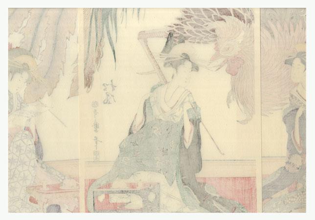 Beauties of the Matsubaya by Utamaro (1750 - 1806)