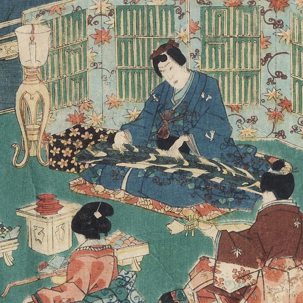 Niou no miya, Chapter 42 by Toyokuni III/Kunisada (1786 - 1864)