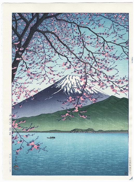 Kisho, Nishiizu, 1937 by Hasui (1883 - 1957)