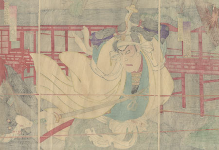 Morning Breeze and Clear Weather in the Fifth Month at Ueno, 1890 by Kunisada III (1848 - 1920)