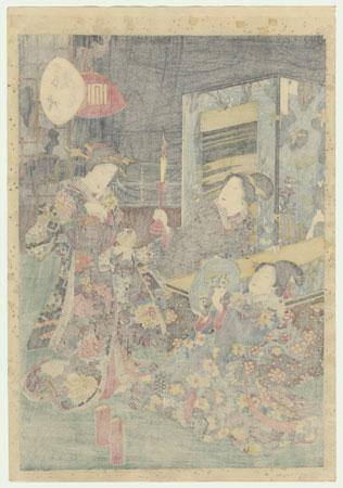 Miotsukushi, Chapter 14 by Kunisada II (1823 - 1880)