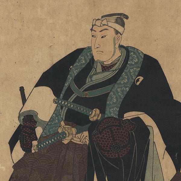 Oboshi Yuranosuke Yoshio, 1847 - 1850 by Kuniyoshi (1797 - 1861)