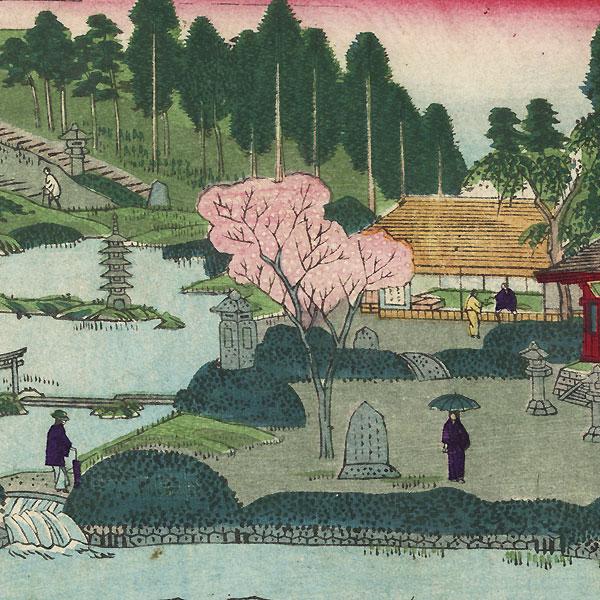 Statue of Dainichi Nyorai by Hasegawa Chikuyo (active circa 1880)