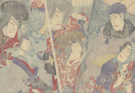 Mitate of Spring Snow, 1882 by Chikanobu (1838 - 1912)