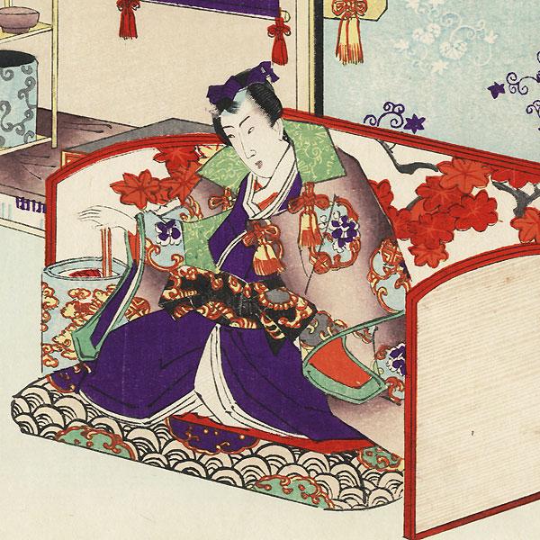 Ukifune, Chapter 51 by Toyokuni III/Kunisada (1786 - 1864)