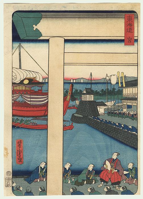 Miya by Yoshitora (active circa 1840 - 1880)