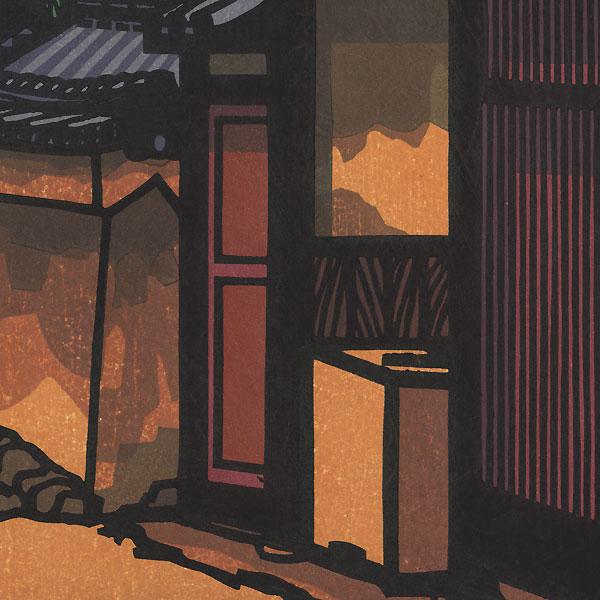 Country Lane, 1989 by Clifton Karhu (1927 - 2007)