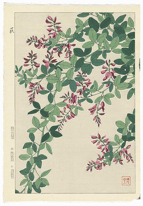 Bush Clover by Kawarazaki Shodo (1889 - 1973)