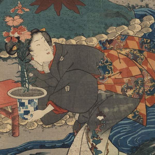 Earth: Everlasting Summer by Kuniyoshi (1797 - 1861)
